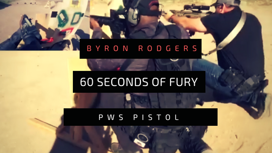 60 seconds of fury PWS pistol