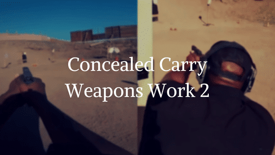 Concealed Carry Work (CCW)