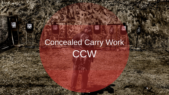 Concealed Carry Work (CCW) – Closing on your Target