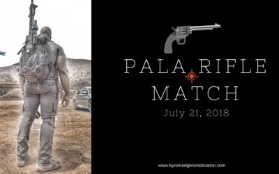 Pala Rifle Match July 21, 2018