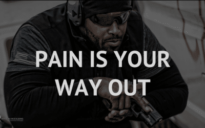 Pain is your way out