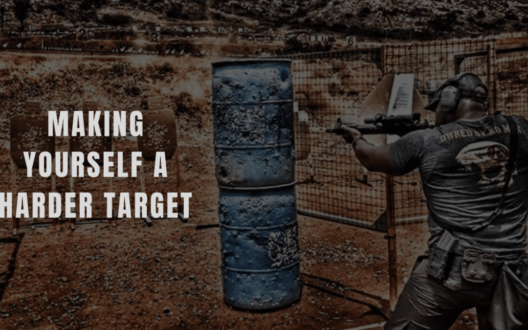 Making yourself a harder target