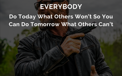 EPISODE 33: Hard Work Isn't For Everybody