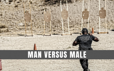 Man versus male
