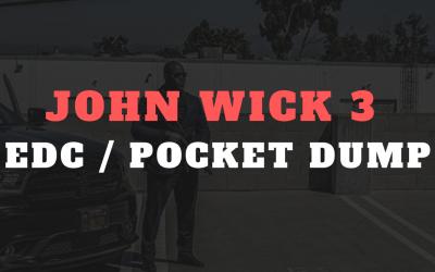 John Wick 3 EDC/pocket dump