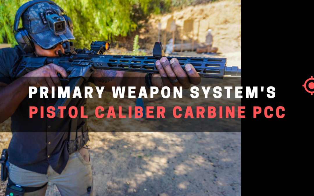 Primary Weapon System's Pistol Caliber Carbine PCC