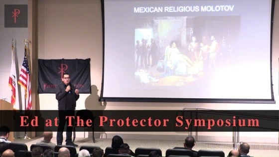 Ed at The Protector Symposium