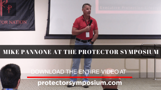 Mike Pannone at The Protector Symposium