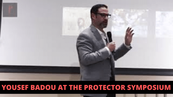 Yousef Badou at the Protector Symposium