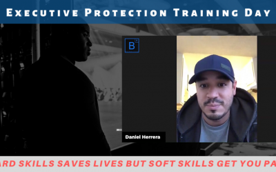 Executive Protection Training Day Feedback by Daniel Herrera