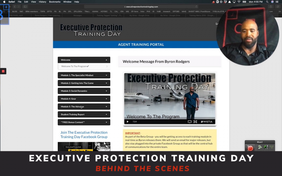 Executive Protection Training Day Success Package – Behind the Scenes