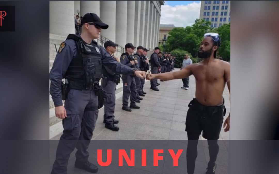 Unify – Repost POSITIVITY to promote unity in America
