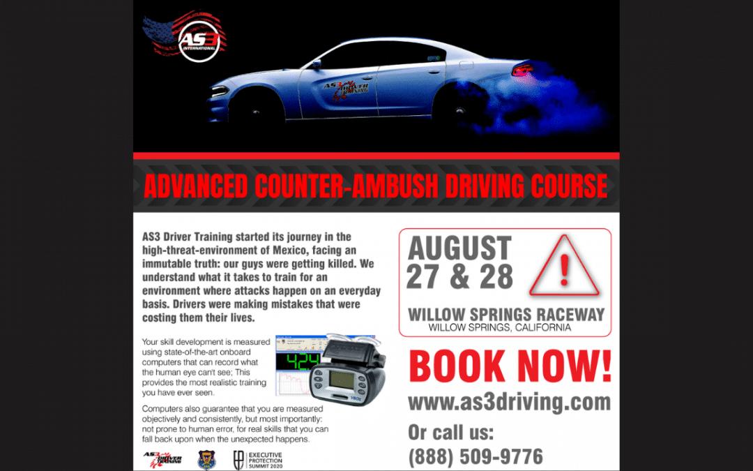 Advanced Counter-Ambush Driving Course