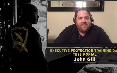 Executive Protection Training Day Testimonial: John Gill