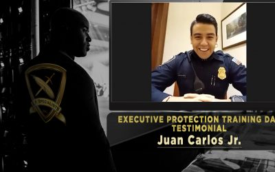 Executive Protection Training Day Testimonial with Juan Carlos