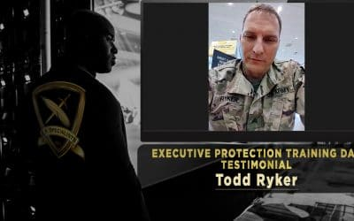 Todd Ryker – Executive Protection Training Day Testimonial
