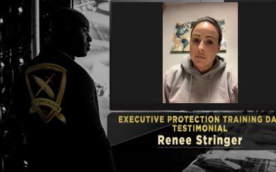Executive Protection Training Day Testimonial – Renee Stringer