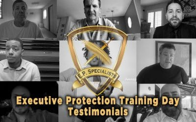 Executive Protection Training Day – Testimonials