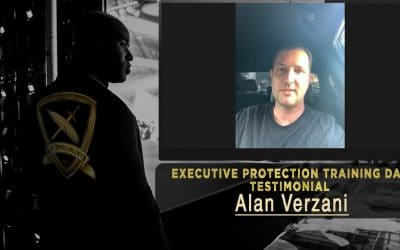 Executive Protection Training Day Testimonial – Alan Verzani