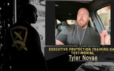 Executive Protection Training Day Testimonial – Tyler Novae