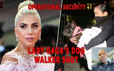 ⚜️Lady Gaga's Dog Walker Shot!! [EXECUTIVE PROTECTION]