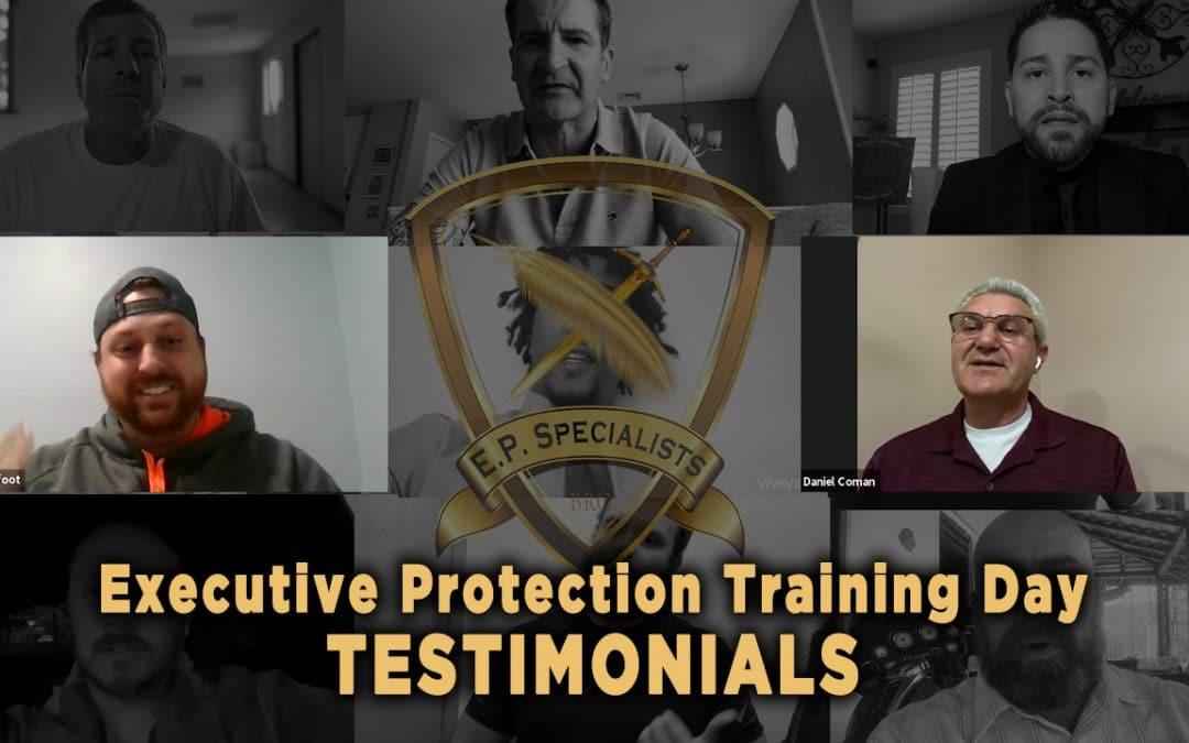 Executive Protection Training Day – Testimonials 8
