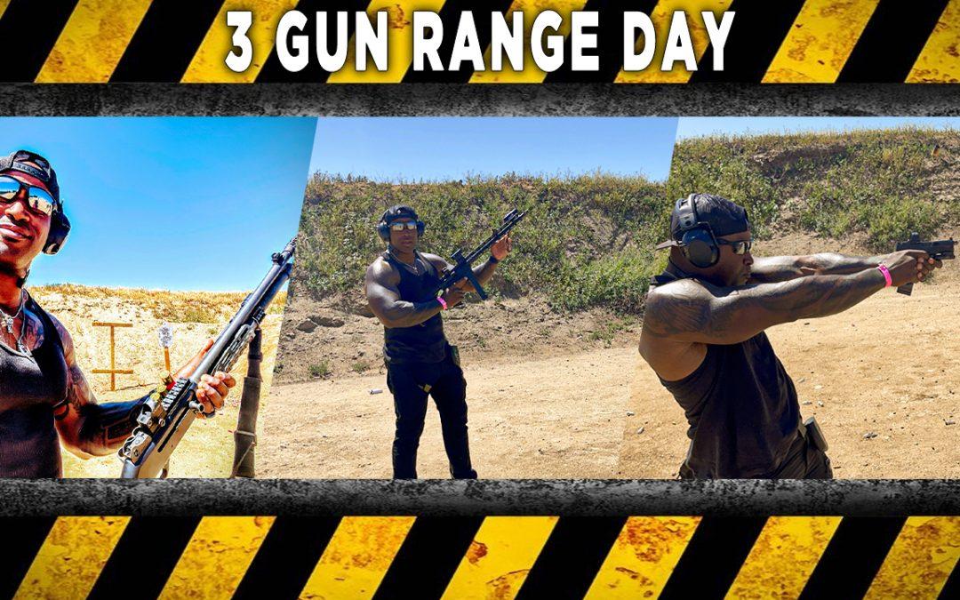 3 GUN Range Day