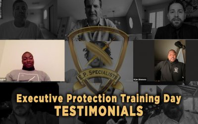 Executive Protection Training Day – Testimonials
