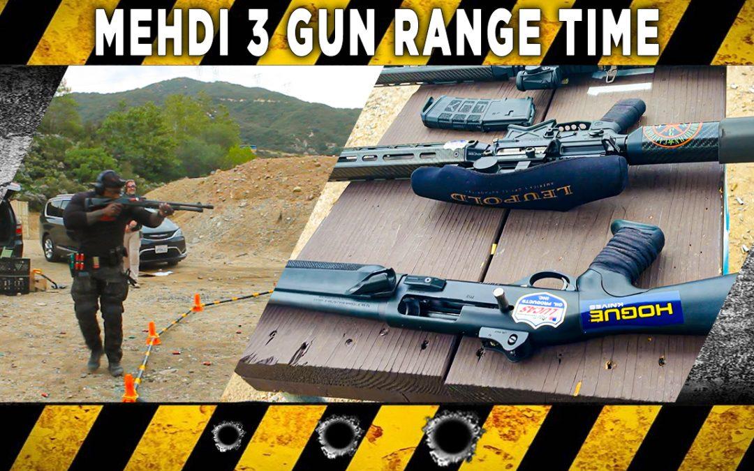 3 Gun Range Time