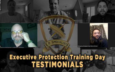 Executive Protection Training Day – Testimonials 11