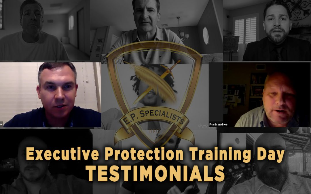 Executive Protection Training Day – Testimonials 10