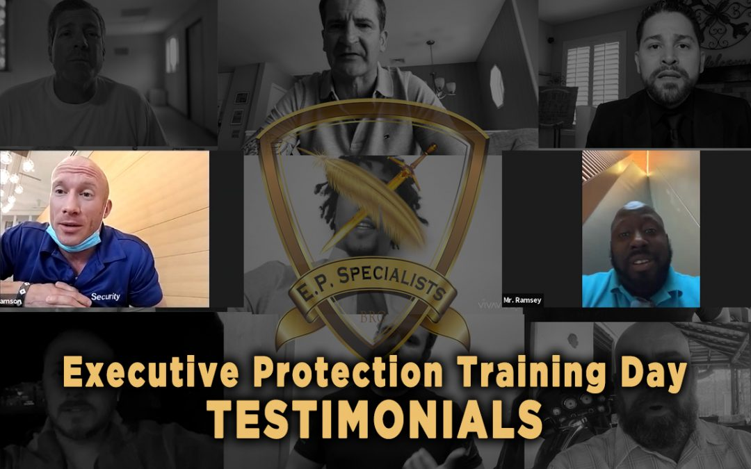 Executive Protection Training Day – Testimonials 12