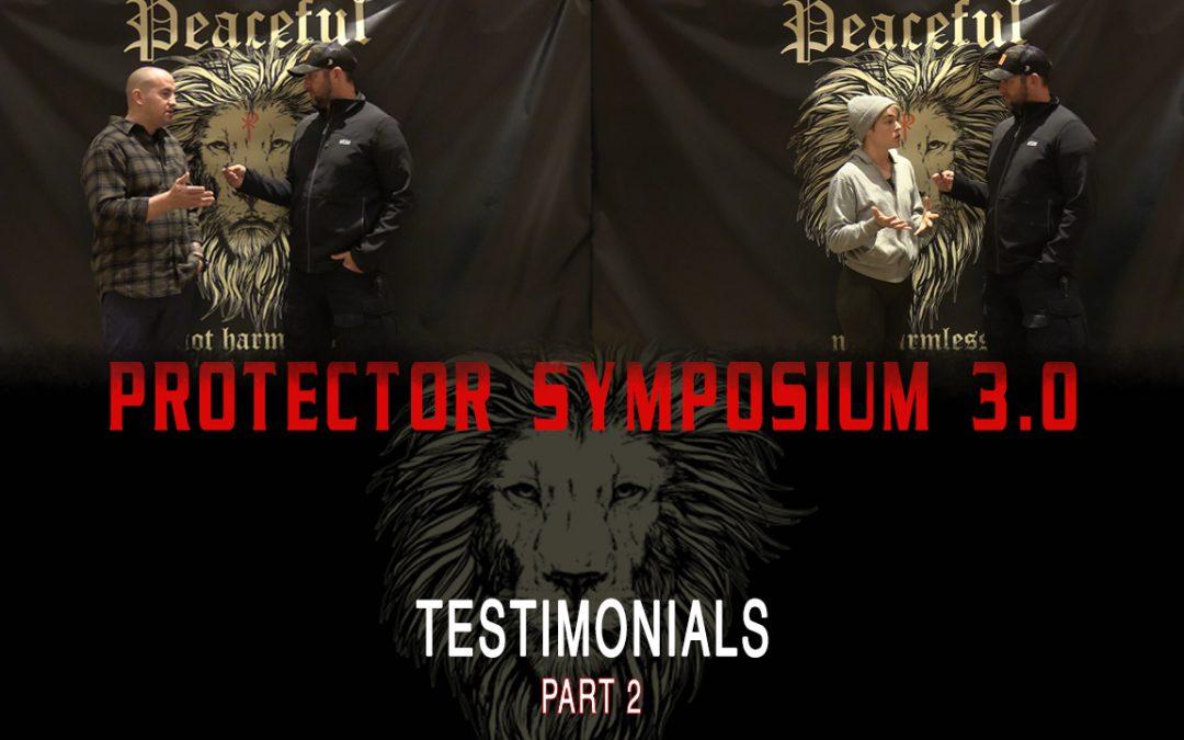 Protector Symposium 3.0 – Testimonials (Part2)